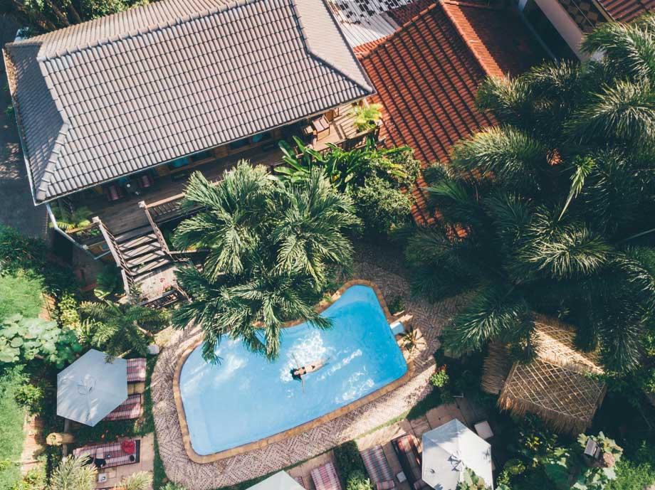 Guesthouse bovenaanzicht